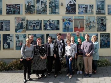Birgit Honé besucht das kreativ:LABOR in Oldenburg